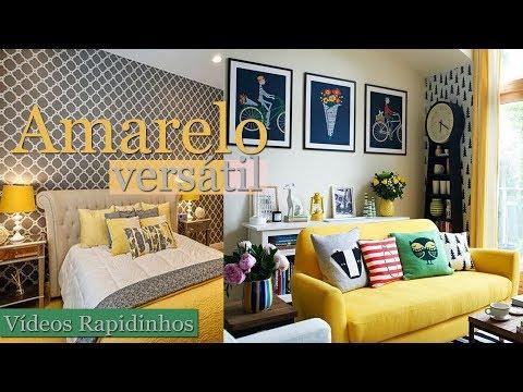 Amarelo na Decoração | Por Maryane Nunes