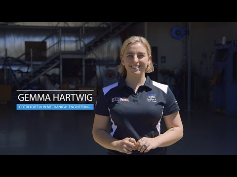 Gemma Hartwig (Certificate III in Mechanical Engineering (Diesel Fitter), QLD