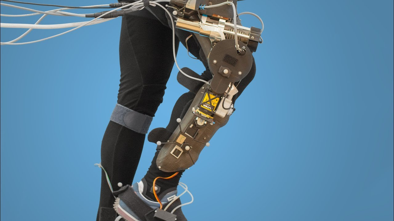 An Exoskeleton for Perturbing the Knee During Gait