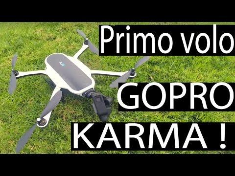 PRIMO VOLO CON IL GOPRO KARMA | Mallorca sept. (Raw clip, no post)