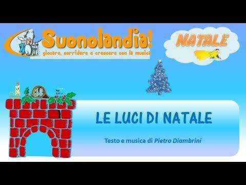 Le Luci Di Natale Canzoni Di Natale Per Bambini Di Pietro