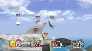 Pikachu wins - Super Smash Bros. Brawl HD (gameplay PC 1080p with Dolphin)