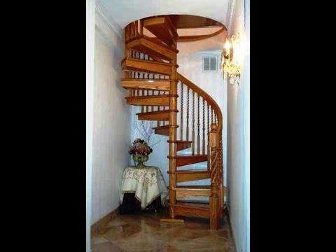 Виды металлических лестниц. Красивые винтовые лестницы