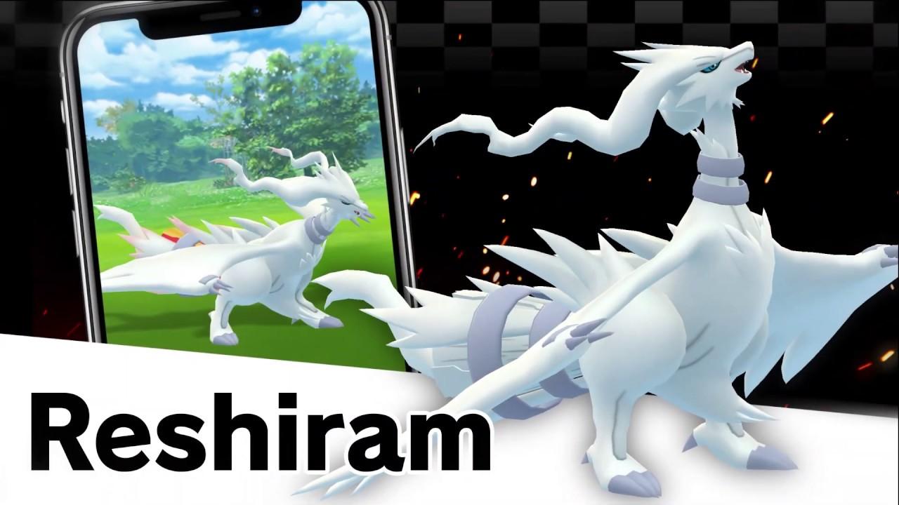 Reshiram, Zekrom, and Kyurem are coming to Pokémon GO!