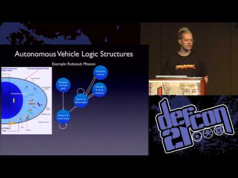 DEFCON 21- Presentation By ZOZ   Hacking Driverless Vehicles  Video and Slides 2013