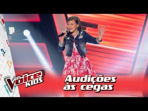 Eduarda Back canta 'Se o Amor Tiver Lugar' na Audição – 'The Voice Kids Brasil' | 3ª Temporada