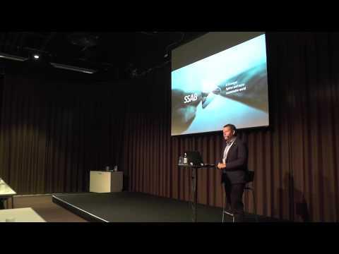 Seminarium om rostrött stål med Anders Wallin, SSAB