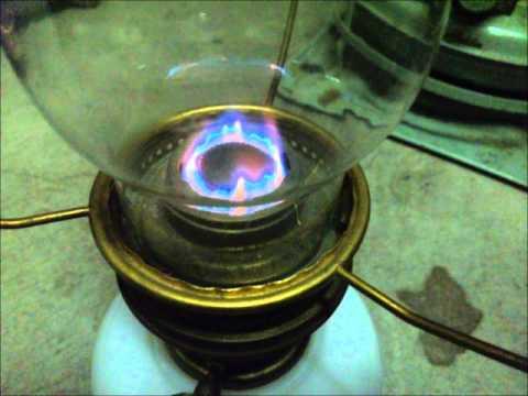 Aladdin Kerosene Lamp Model No 23 Youtube