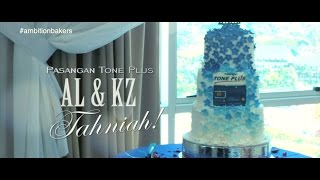 By Ambition Bakers | 3 Tier Wedding Cake Tone Plus