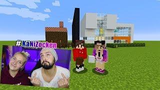 KAANS MODERNES Haus vs NINAS ALTMODISCHES Haus! Minecraft Build Battle #KanNiZocken