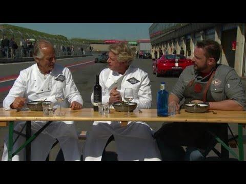 BBQ op circuit van Zandvoort - COOKING WITH THE STARS