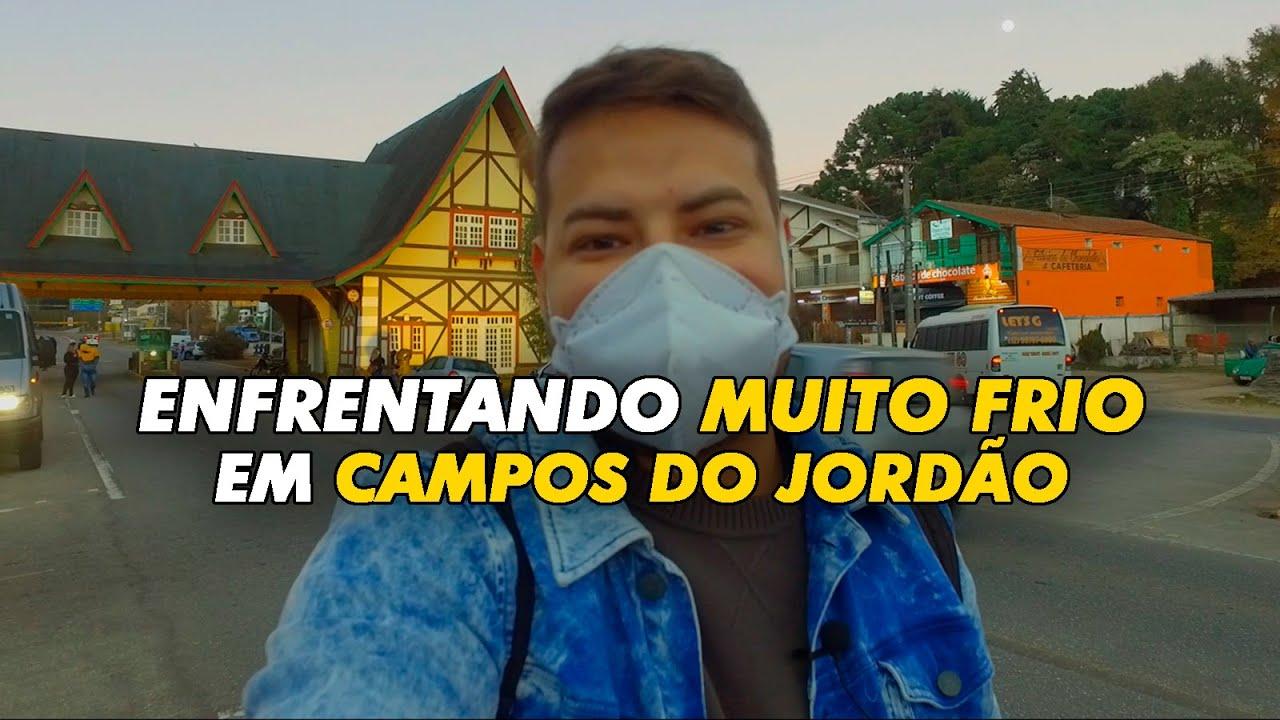 CONHECI CAMPOS DO JORDÃO COM MUITO FRIO