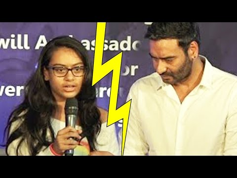 Ajay Devgn's Daughter Did Not Speak To Him For One And Half Years  Here's Why!