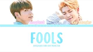 BTS Rap Monster And Jungkook Fools Cover Color Coded Lyrics
