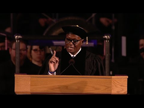 Former Dallas Police Chief David O. Brown's Commencement Address