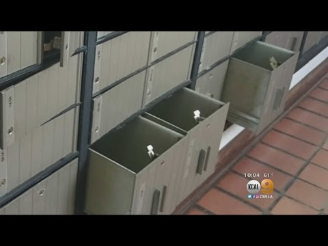 Mail Boxes At Torrance Post Office Burglarized