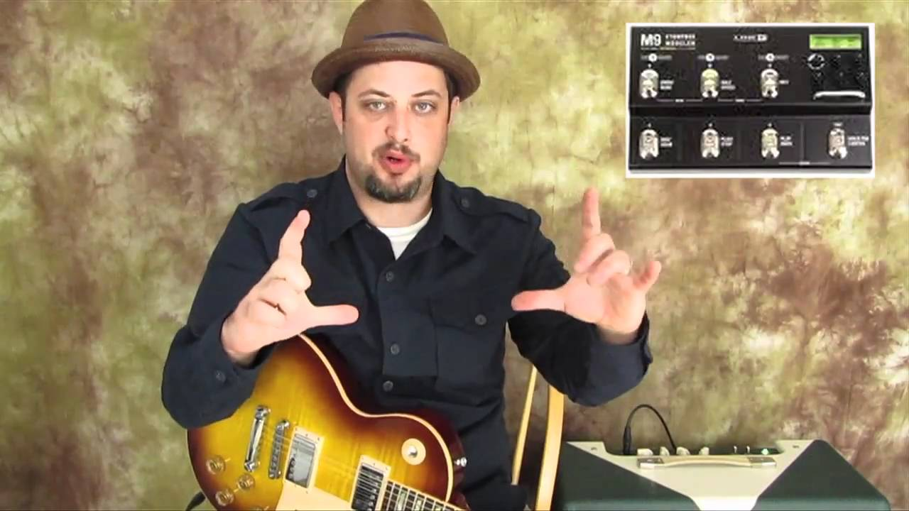 Guitar Effects - Line 6 - M9 - Demo - guitar synth sounds