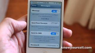 iMessage SMS how to for iPhone 4S