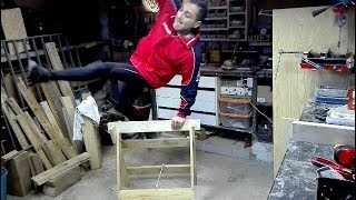 homemade building sawhorses
