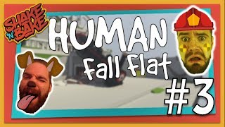Human Fall Flat (Xbox One) | Trashing Houses Like Rockstars | Part 3