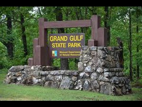 Grand Gulf state park, Missouri
