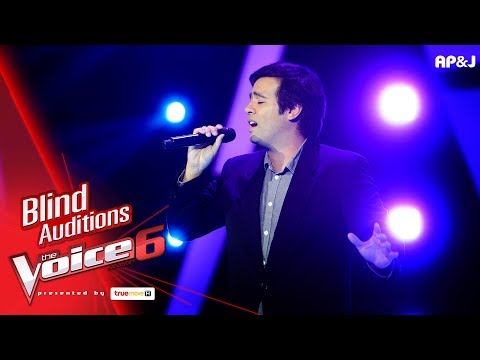 เบน - Good Bye - Blind Auditions - The Voice Thailand 6 - 19 Nov 2017