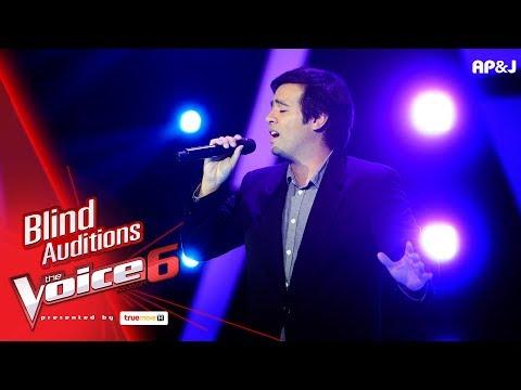 เบน - Good Bye - Blind Auditions - The Voice Thailand 6 - 19 Nov 2017
