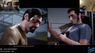 Sodapoppin and Forsen React to A Way Out Ending (Vincent and Leo)
