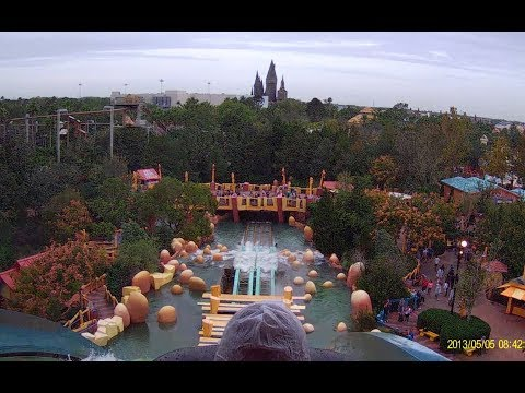 Dudley Do Rights Ripsaw Falls POV HD at Islands of Adventure