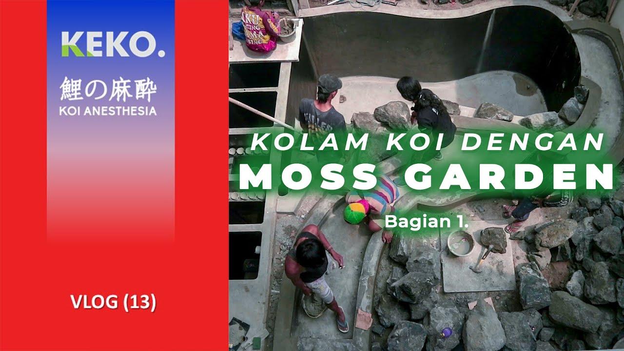 MOSS GARDEN | Integrasi Kolam Koi dengan Kali dan Moss Garden | Koi Vlog (13)