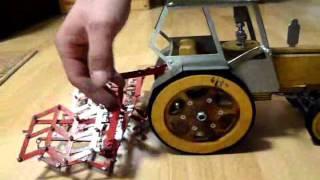 Traktor + brony. Ręcznie wykonany. CNC+laser