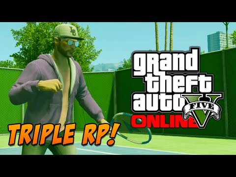 GTA 5 Online: Earn triple RP! Golf & Tennis RP Bonuses - Is It worth It? (GTA V)