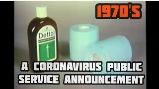 'SPOOF' Hilarious CORONAVIRUS British Public Information film from the 70's ~ MONTY P