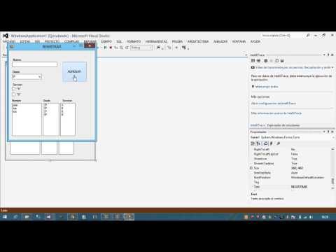 Como usar el ComboBox , CheckBox Y ListBox en Visual Basic