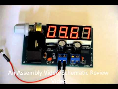 The Lm317 Variable Dc Dc Power Supply Diy Kit Voltage