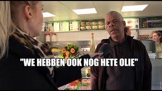 Zo jaagt held Edsel frituurboef weg uit Haagse snackbar