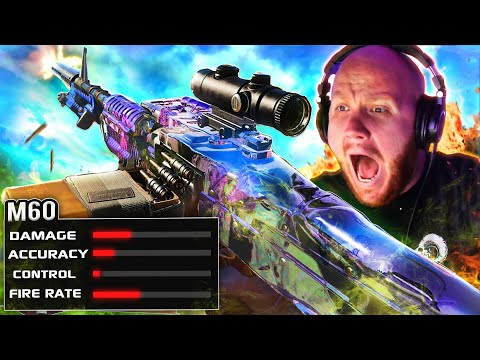 TRYING THE M60 IN WARZONE... WORST GUN?! (RAGE) Ft. Nickmercs, CouRageJD & Cloakzy