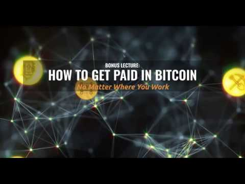 How To Get Paid In Bitcoin...No Matter Where You Work!