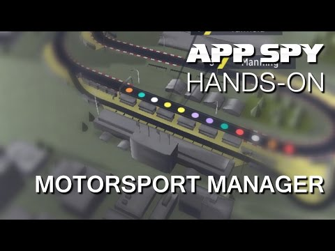 Motorsport Manager | iOS iPhone / iPad Hands-On - AppSpy.com