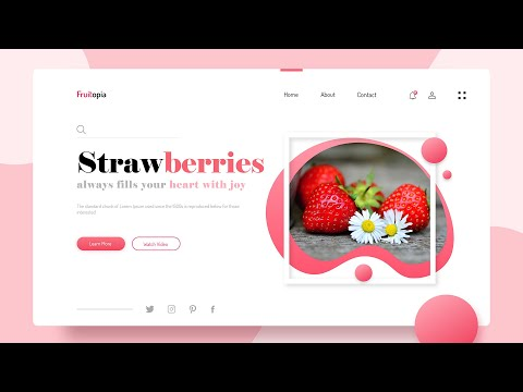 How To Make A Website Using HTML And CSS Step By Step | Website Design Tutorial With HTML CSS