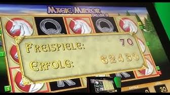 Magic Mirror Deluxe 2 70 Freispiele, der Wahnsinn💲😍💲😍💲 Lets Play Spielothek Tag 76 Teil 13