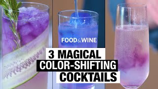 3 Magical Color-Shifting Cocktails | Bottle Service | Food & Wine