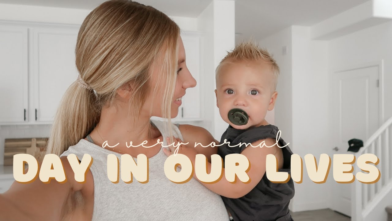 a normal day in our lives    ftm + sahm