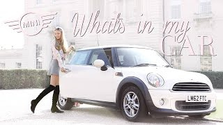WHAT'S IN MY MINI? & CHATS ABOUT MY DRIVING EXPERIENCE! | Freddy My Love