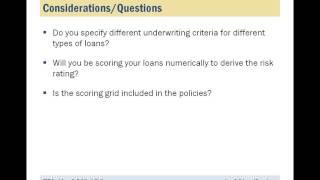 Loan Policies and Procedures
