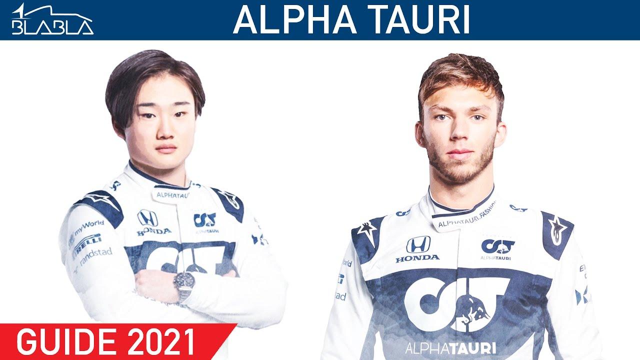 GUIDE 2021 : Alpha Tauri  Pierre Gasly   Yuki Tsunoda