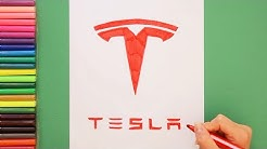 How to draw the Tesla Logo