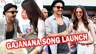 Ranveer Singh: I will wait a lifetime for Deepika | Gajanana Song Launch | Sukhwinder Singh