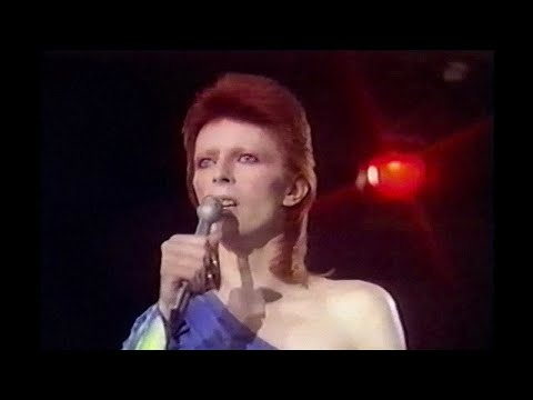 David Bowie  Time  live 1973 new edit  remastered 1980 Floor