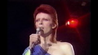 David Bowie - Time - live 1973 (new edit / remastered) 1980 Floor Show